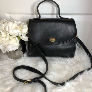 Coach Leather Manor Crossbody Vintage handbag